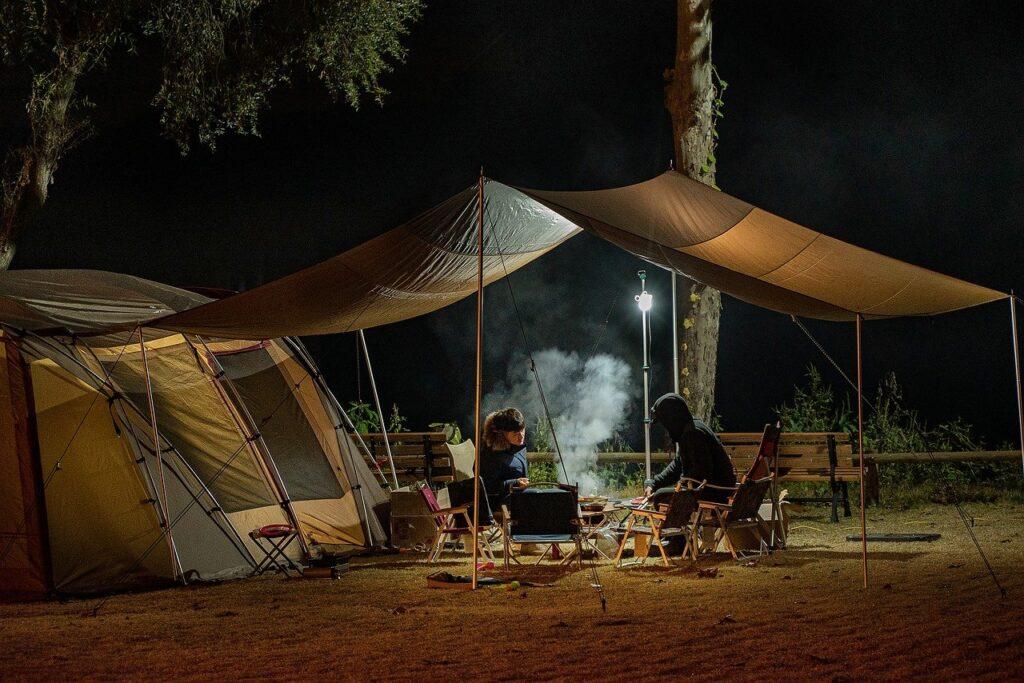 テント宿泊イメージ画像